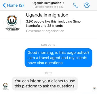 Uganda tourist visas - apply online or buy on arrival at