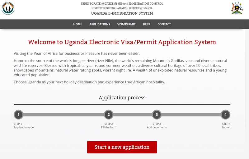 Uganda tourist visas - apply online or buy on arrival at Entebbe