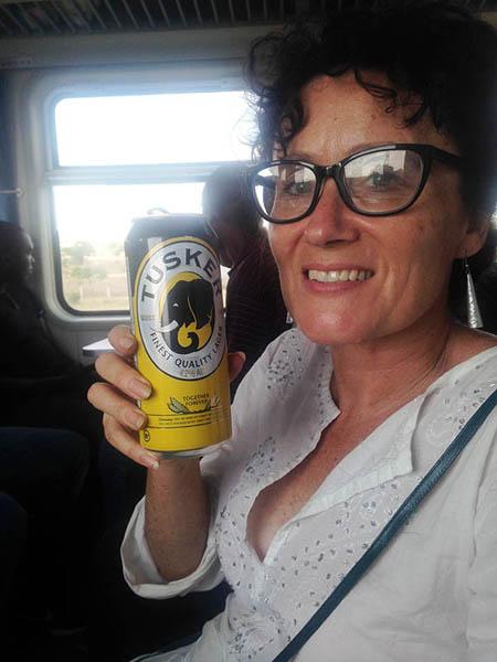 e14d204968 SGR train. Kenya. Tusker lager. Diary of a Muzungu